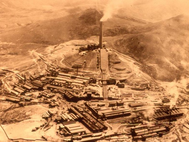 The Anaconda Smelter operated from 1902 until 1980.